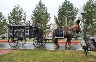 конный катафалк