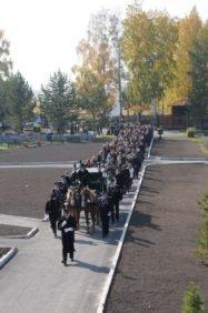похороны на конном лафете