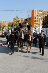 Конные похороны на карете XXI века