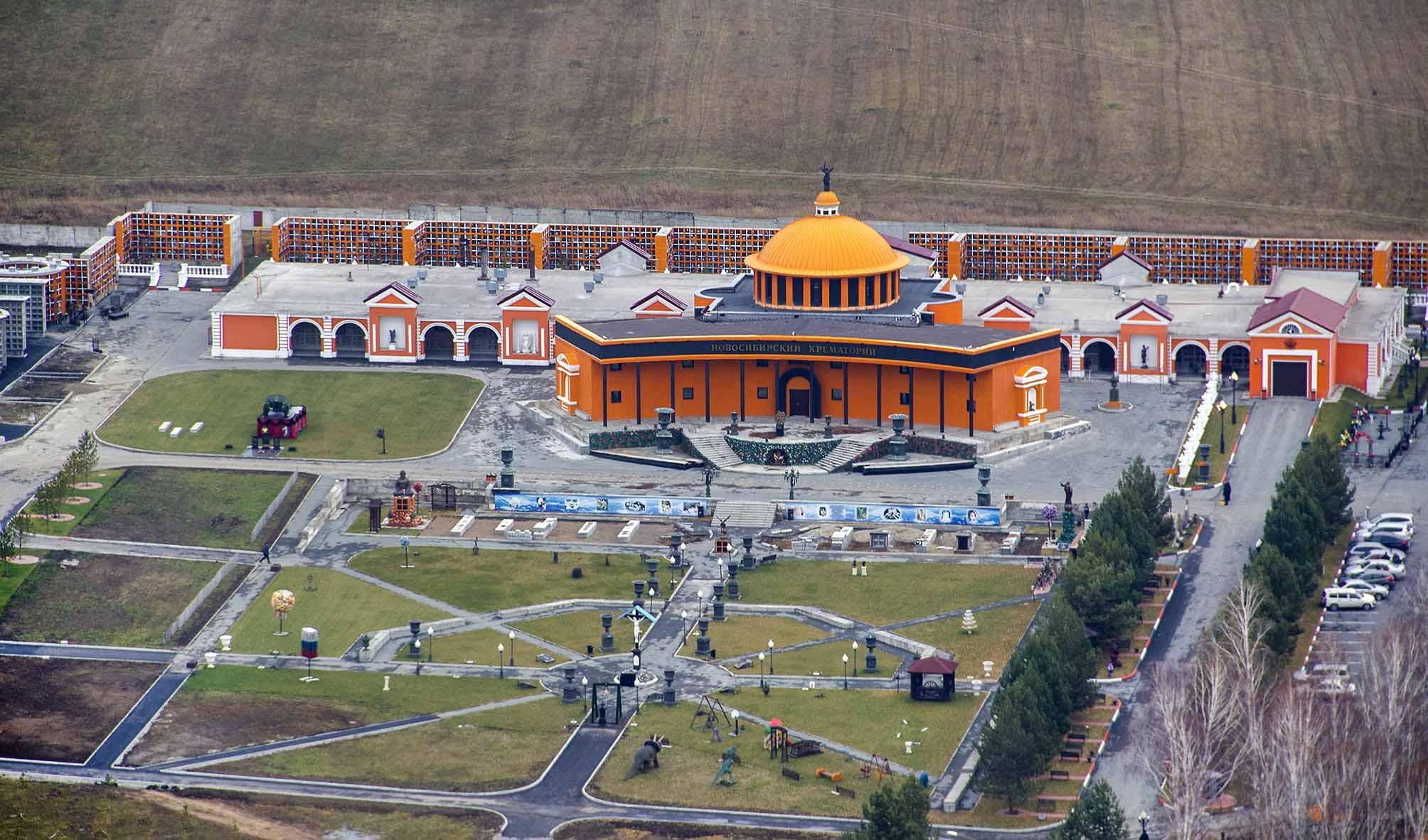 Новосибирский крематорий работает в штатном режиме