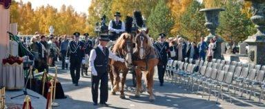 Новосибирский крематорий конные похороны