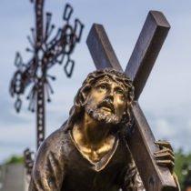 статуя христа парк памяти