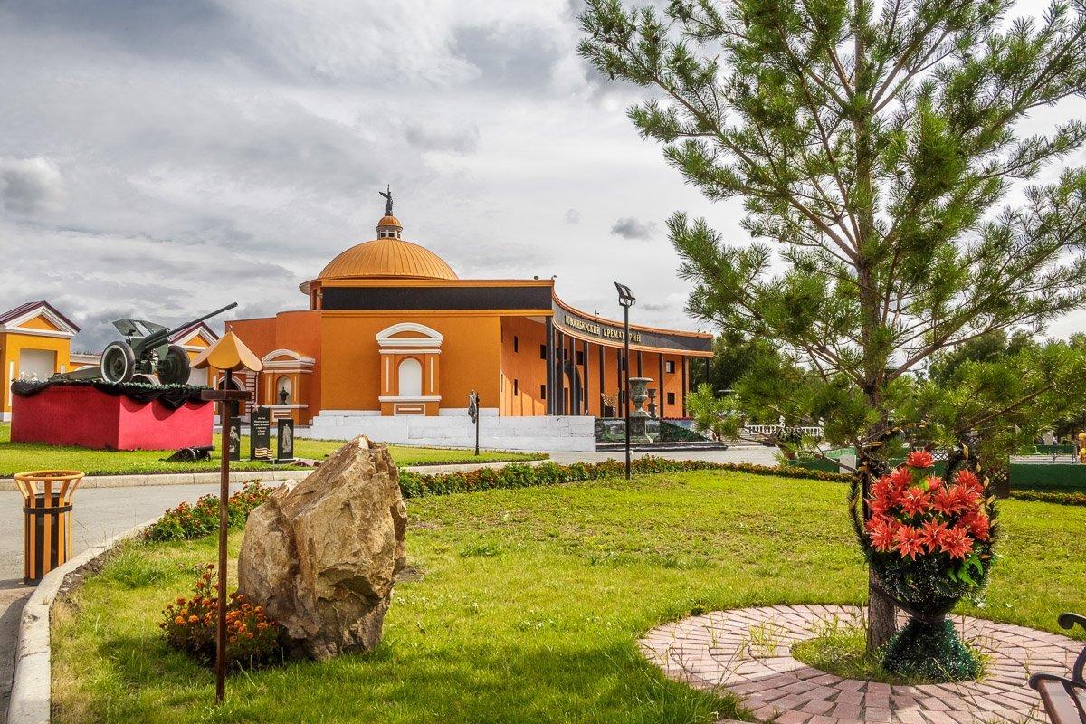 Новосибирскому крематорию 9 лет (2012 г.)