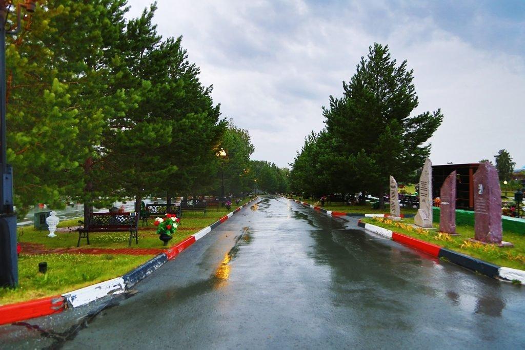 аллея памяти новосибирского крематория