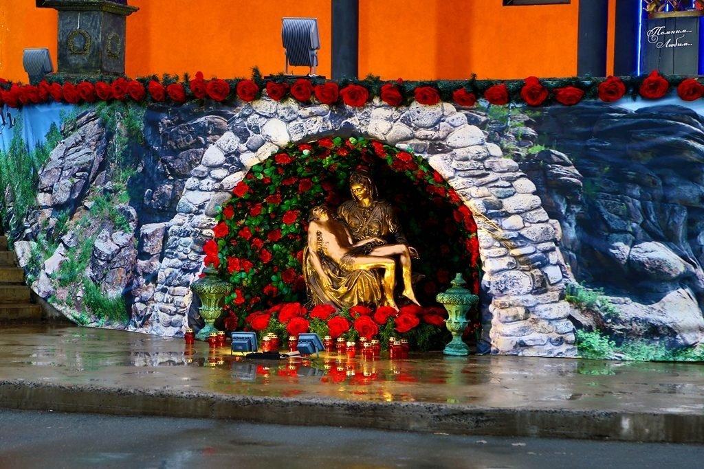 Пиета Pieta Новосибирский крематорий