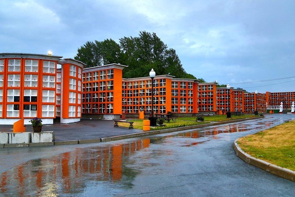 колумбарии Новосибирского крематория