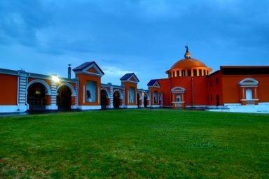 Новосибирский крематорий вечерние фото