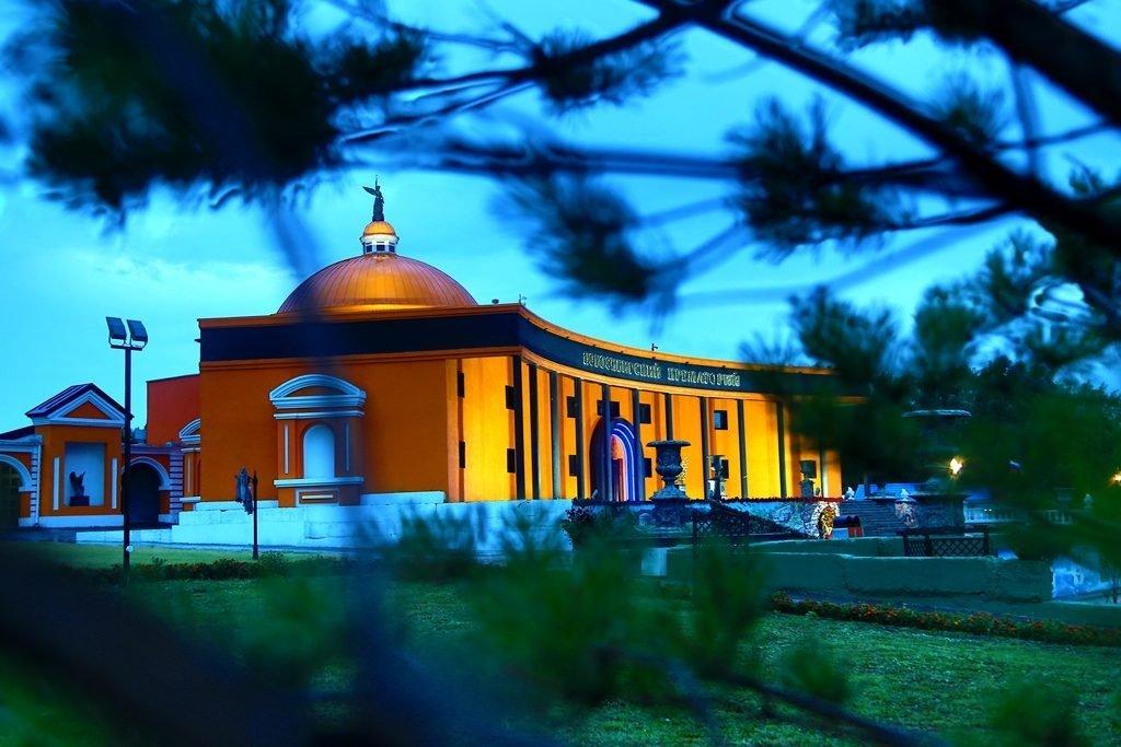 Новосибирский крематорий вечерние фото 8
