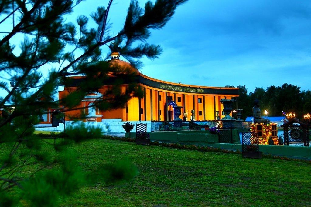 Новосибирский крематорий вечерние фото 7