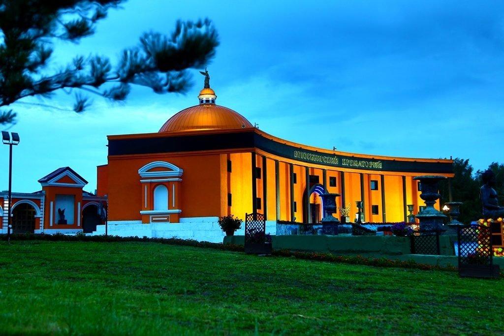 Новосибирский крематорий вечерние фото 6