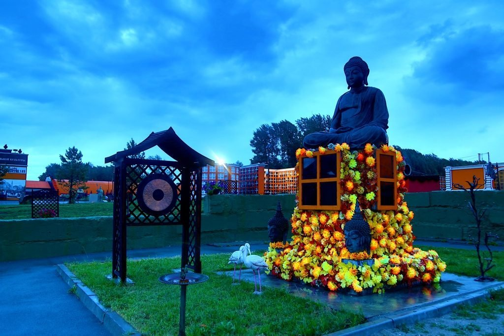 Новосибирский крематорий вечерние фото 4