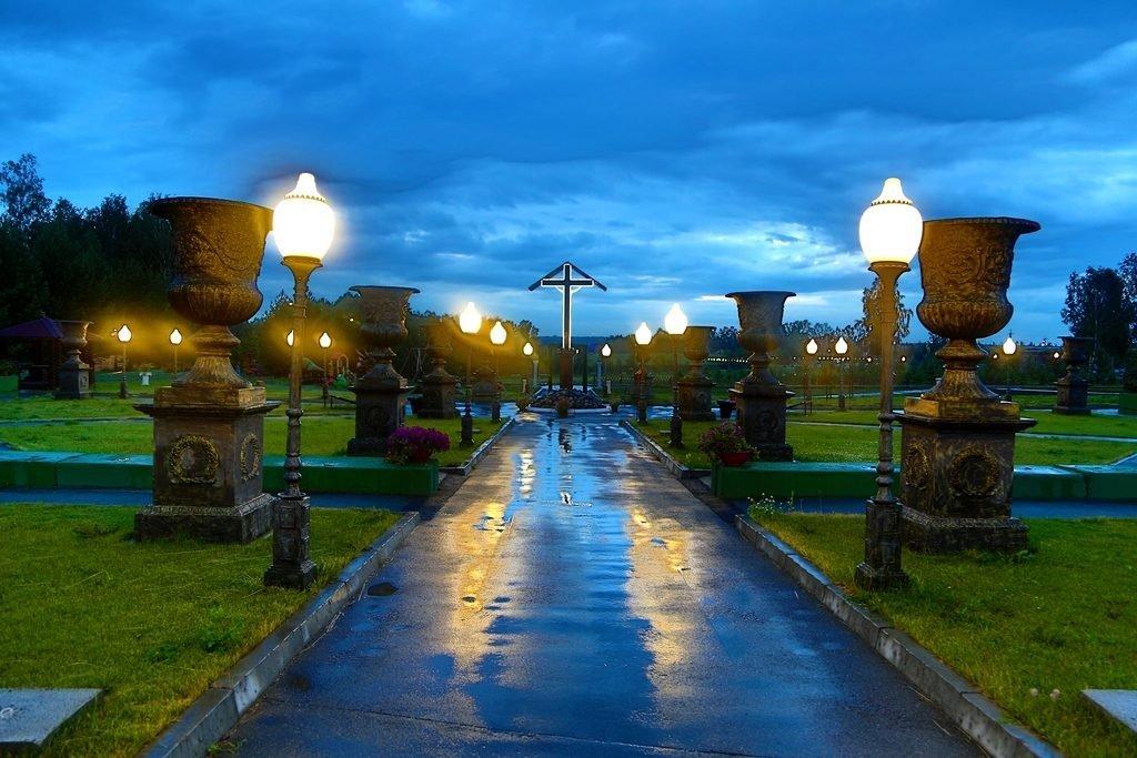 Новосибирский крематорий вечерние фото 2