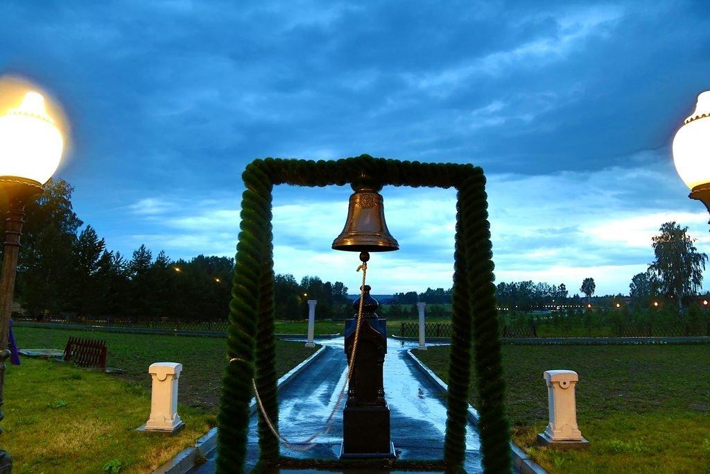 колокол Новосибирский крематорий 1