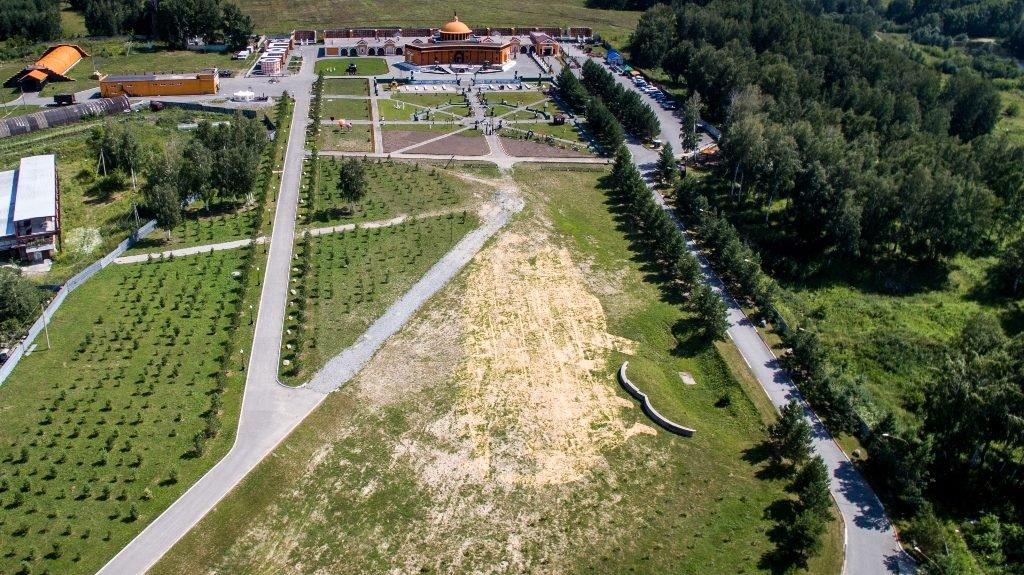 Новосибирский крематорий с высоты птичьего полета 37