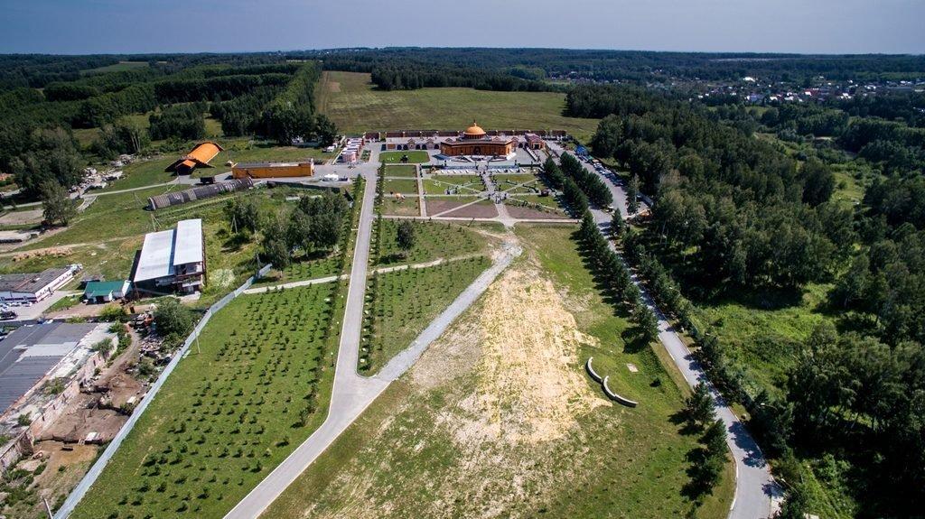 Новосибирский крематорий с высоты птичьего полета 36