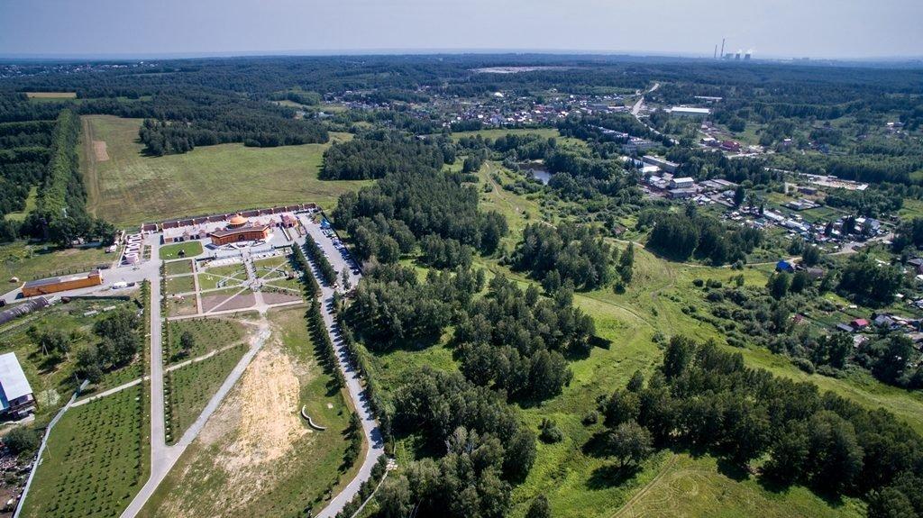 Новосибирский крематорий с высоты птичьего полета 33