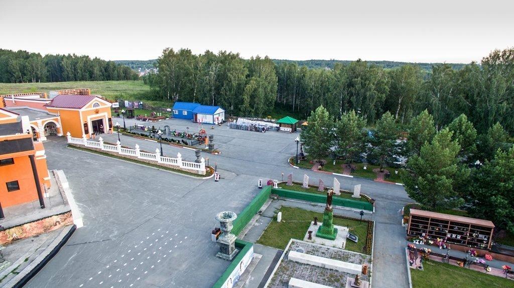 Новосибирский крематорий с высоты птичьего полета 31