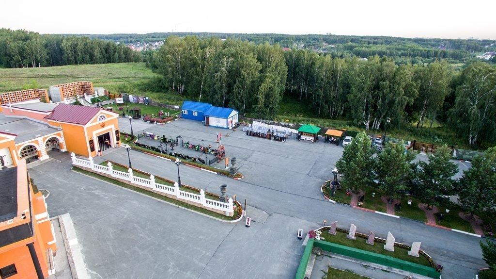 Новосибирский крематорий с высоты птичьего полета 30