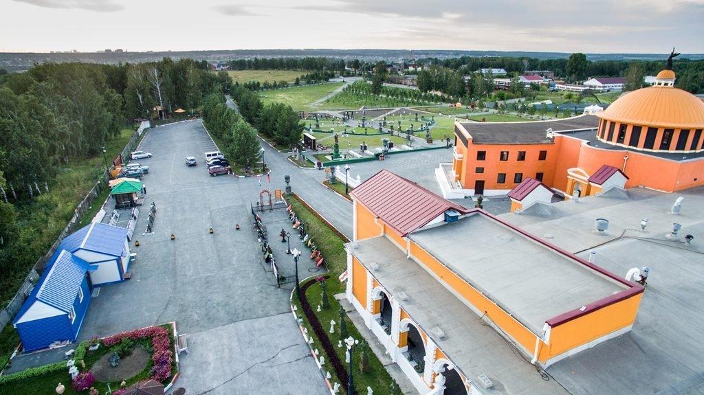 Новосибирский крематорий с высоты птичьего полета 29