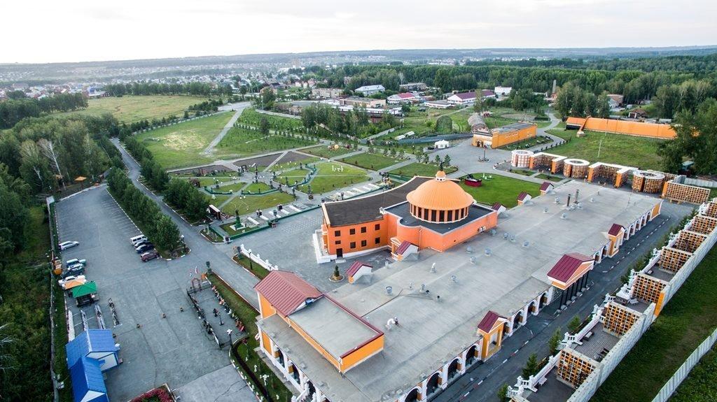 Новосибирский крематорий с высоты птичьего полета 28