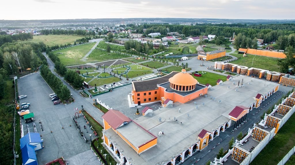 Новосибирский крематорий с высоты птичьего полета 27