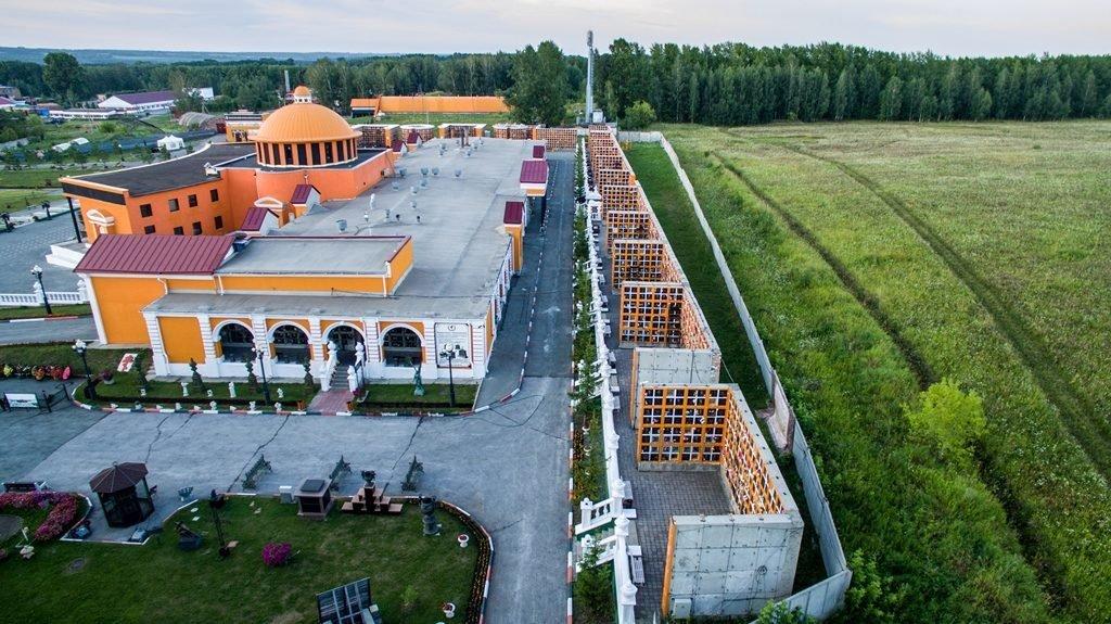 Новосибирский крематорий с высоты птичьего полета 26
