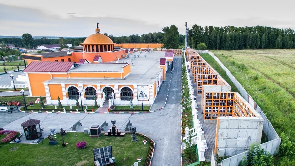 Новосибирский крематорий с высоты птичьего полета 25