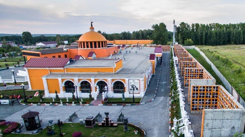 Новосибирский крематорий с высоты птичьего полета 24