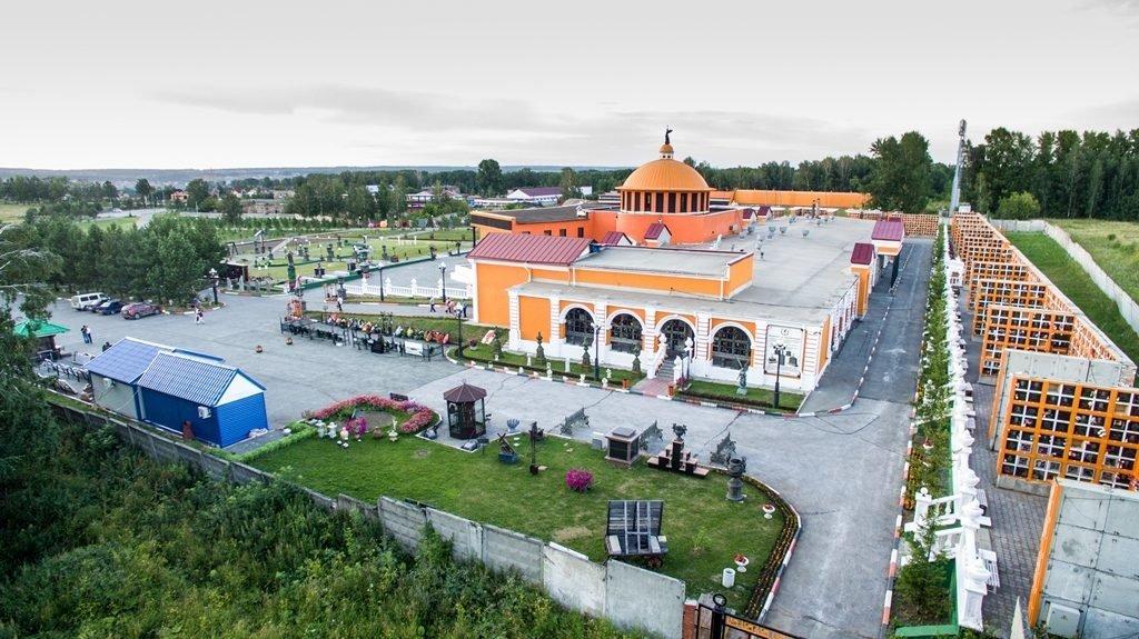 Новосибирский крематорий с высоты птичьего полета 23