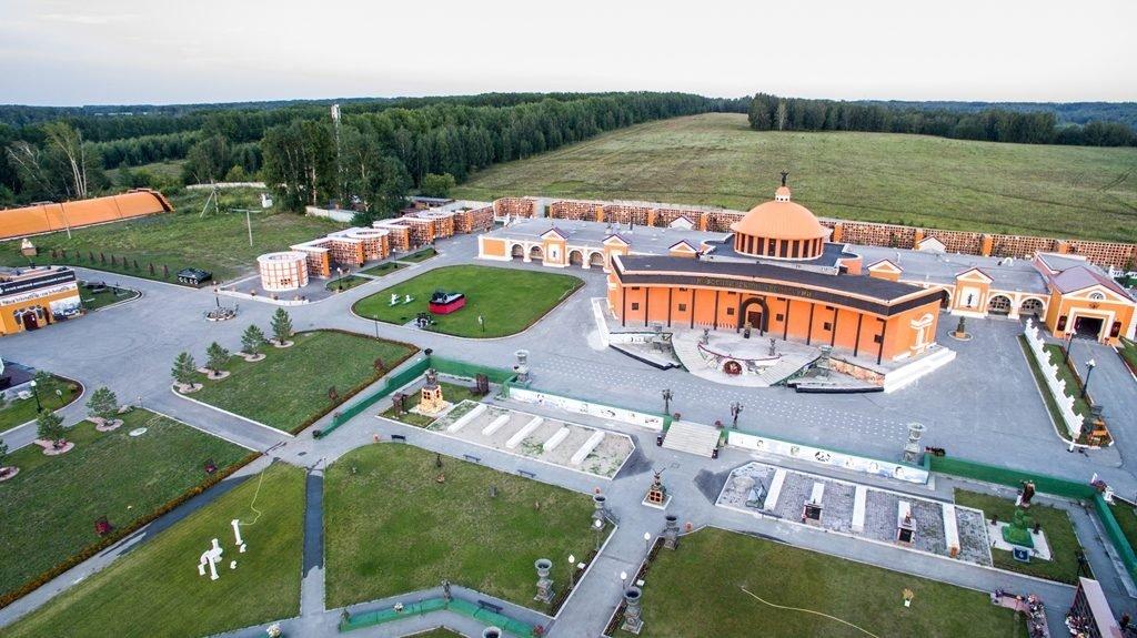Новосибирский крематорий с высоты птичьего полета 18