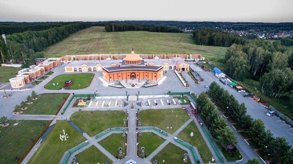 Новосибирский крематорий с высоты птичьего полета 16
