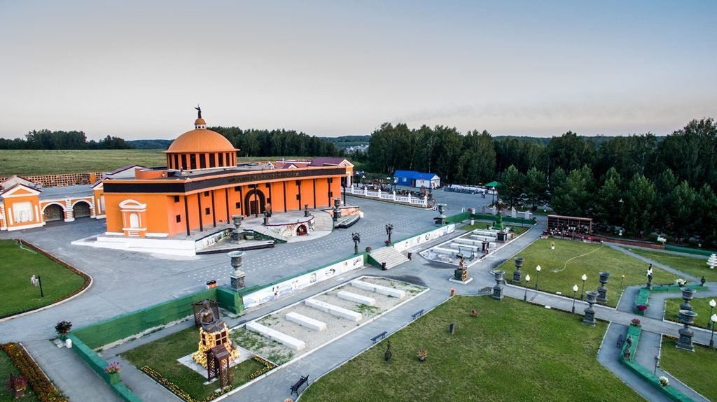 Новосибирский крематорий с высоты птичьего полета 6