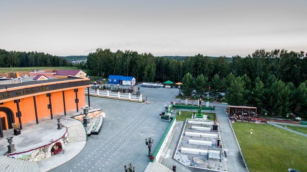Новосибирский крематорий с высоты птичьего полета 4