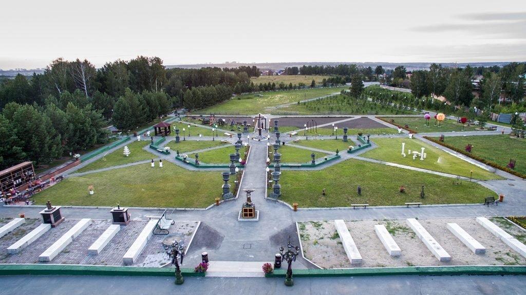Новосибирский крематорий с высоты птичьего полета 3