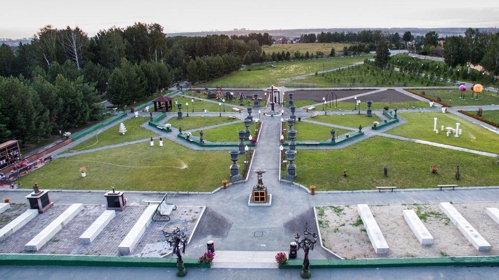 Новосибирский крематорий с высоты птичьего полета 2