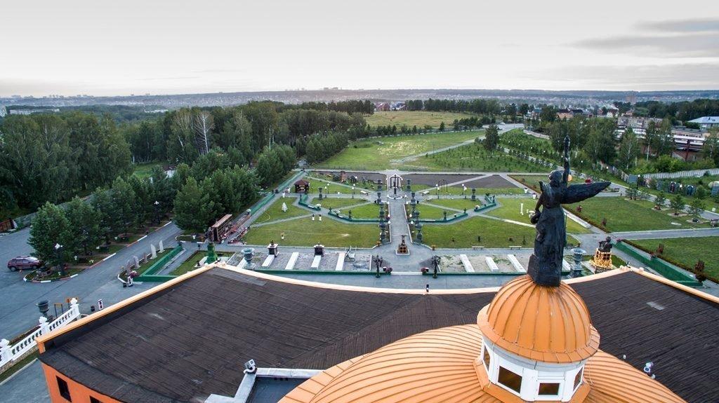 Новосибирский крематорий с высоты птичьего полета 1