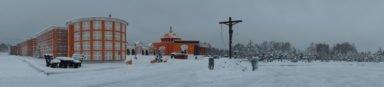 зима в новосибирском крематории