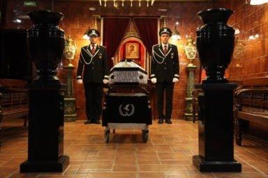 траурный зал Новосибирский крематорий