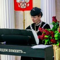 Большой траурный зал Новосибирского крематория