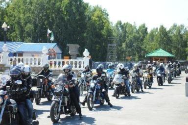 похороны на мотоцикле