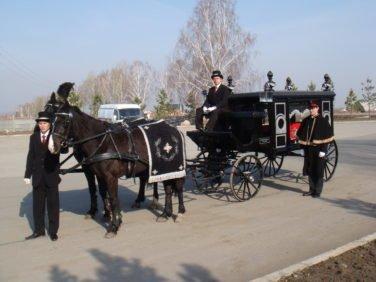 конные похороны в Новосибирске