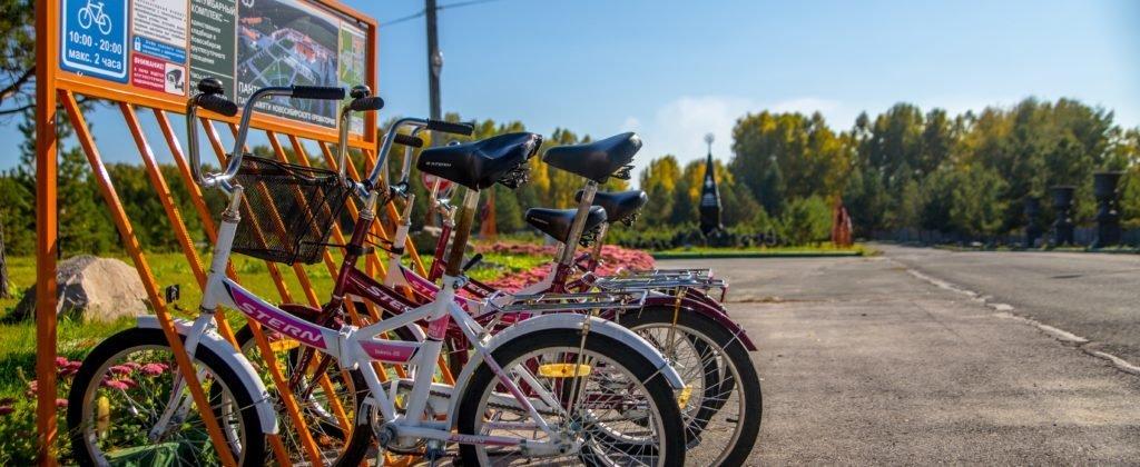 бесплатный велопрокат в Новосибирском крематории