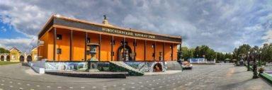 Новосибирский крематорий здание