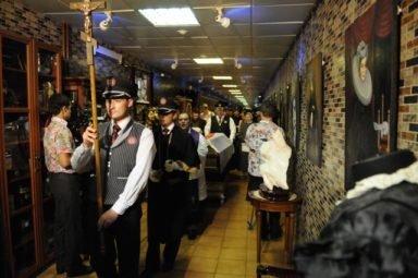 церемония траурное шествие