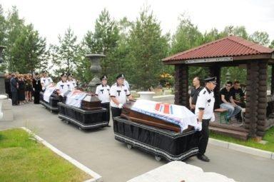 похороны хоккеистов