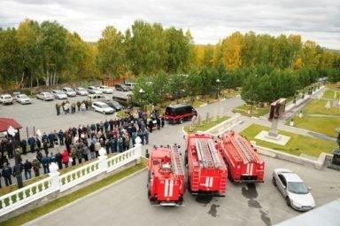 похороны пожарных ПД Некрополь