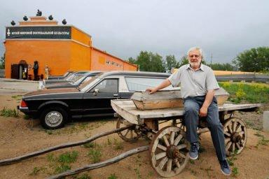 Сергей Якушин основатель новосибирского крематория