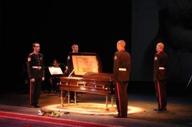 похороны Крупениной
