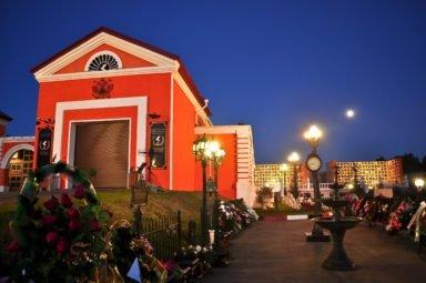 Новосибирский крематорий ночные фото