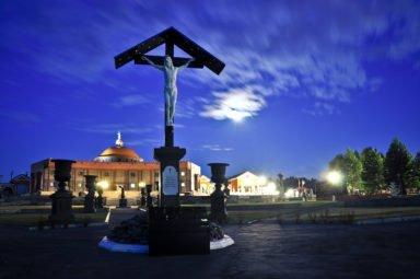 поклонный крест в парке памяти